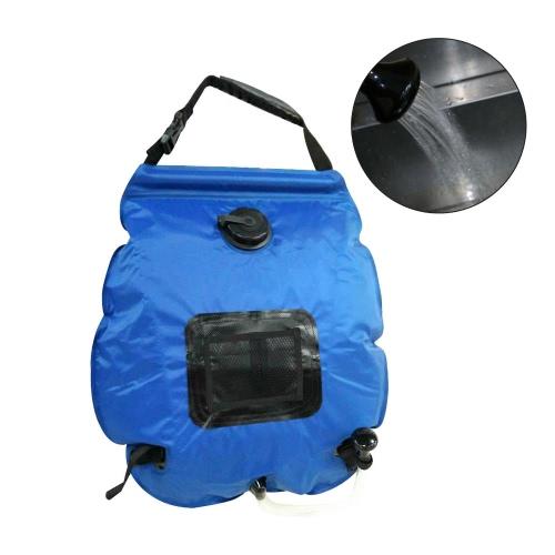 Sacchetto per doccia da campeggio solare esterno portatile leggero