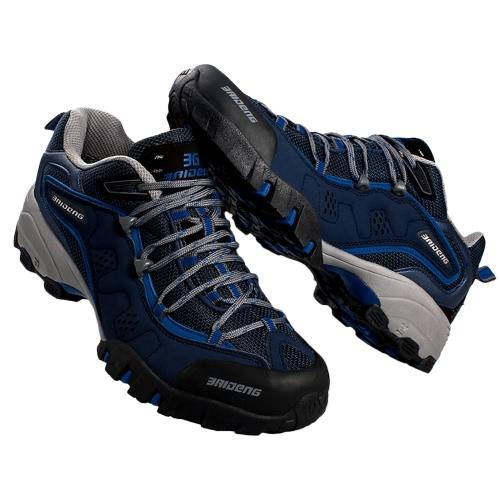 屋外靴専門登山靴男性ハイキングの靴をトレッキング シューズ スポーツ スニーカー