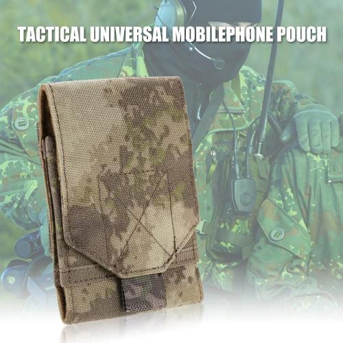 Тактические Универсальный совместимый смартфон Открытый многоцелевой Кемпинг Carry аксессуаров Чехол