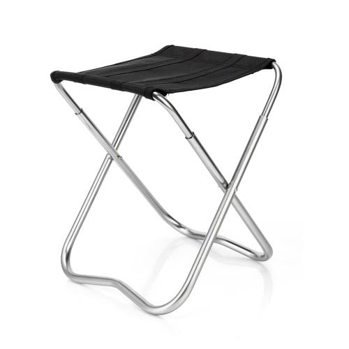 Открытый Складной стул портативный складной стул из алюминиевого сплава Рыбалка Табурет