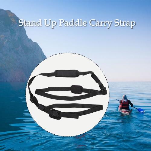 Stehen SUP Up Paddle Board Trägerspeicher Strap Carry Sling verstellbarer Schultergurt