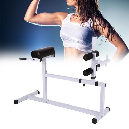 TOMSHOO iperestensione Banco Banco regolabile addominale Torna Esercizio Hyper estensione romano sedia casa allenamento fitness