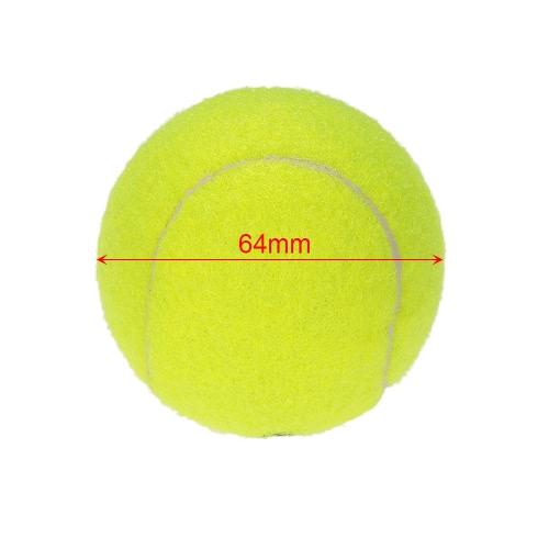 Купить 10Pcs / Bag Tennis Training Ball Der Praxis Hohe Schlagfertigkeit Durable Tennisball-Trainingsbälle Für Anfänger Wettbewerb