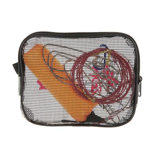 Нержавеющая сталь Рыбалка Стрингер Fish Lock 5 Защелки шнур веревки веревки с Float Рыбалка Снасти инструмент Аксессуары