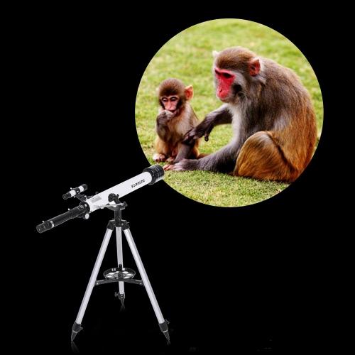 Visionking 700x60mm рефрактор Космический телескоп астрономический 210x HD Монокуляр Зрительные Область применения Открытый Портативный Путешествия телескоп