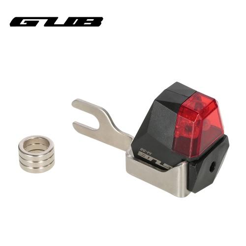 GUB Автоматический свет велосипеда Велосипед Дисковый тормоз свет лампы заднего света Нет необходимости батареи