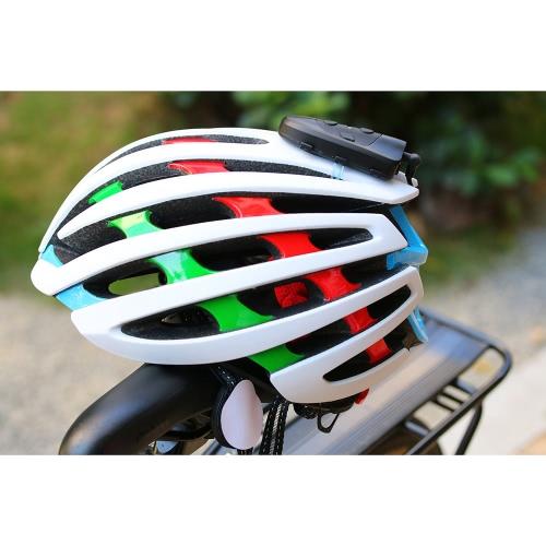 EJEAS Fahrrad-Motorrad-1200M Reichweite BT V3.0 Telefonanruf Musik Helmet Intercom Gerät Headset Schnell Pairing-Kommunikationsgerät Water Resistant