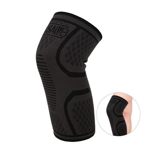 WOSAWE 1pc Elastische Kompression Knie Brace Radfahren Laufen Wandern Outdoor Sport Fitness Knie Ärmel Pad Support Guard
