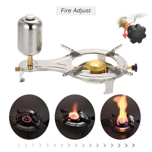 New Design Outdoor Liquid Alcohol Cooking Stove Gasify Camping Stove for Outdoor Picnic Hiking