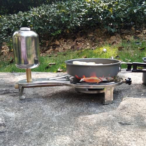 Nuevo diseño al aire libre de alcohol líquido de cocina estufa Gasify estufa de camping para excursiones al aire libre de picnic
