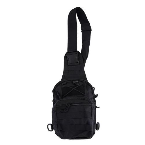 Открытый военный наплеч Тактический рюкзак Рюкзаки Спортивный кемпинг Черный