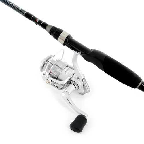 "ABU GARCIA Kardinal S Spinning Combo 6'6 ""Medium Angelrute Pole + CARDINAL S Spinnen Angelrolle"