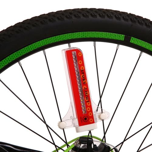 32 LEDs Fahrrad Speichen Lichter Farbwechsel Fahrrad Licht Speichen Rad Licht Fahrrad Licht Lampe