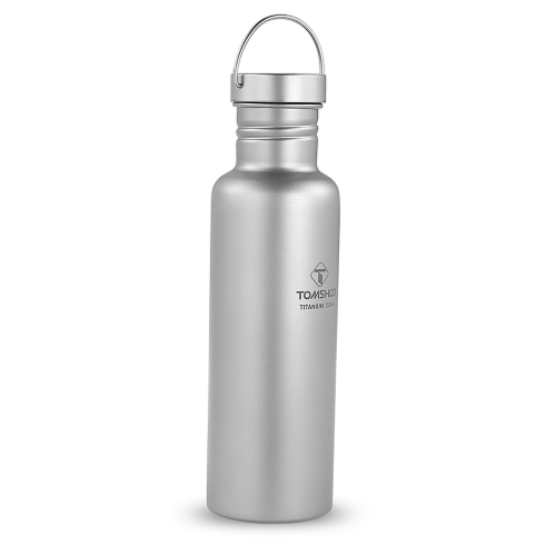 TOMSHOO 750ml Full Titanium Water Bottle