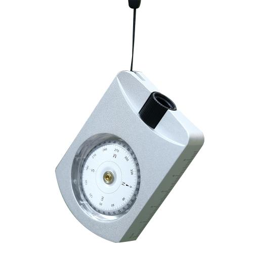 Открытый многофункциональный инструмент для определения угла наклона компаса