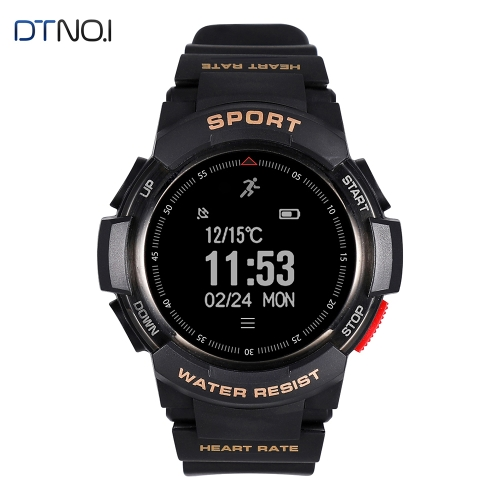DTNO.I F6 IP68 Waterproof BT4.0 reloj inteligente