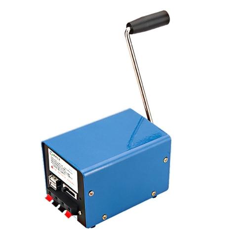 Generatore a manovella manuale portatile multifunzione da esterno 20W