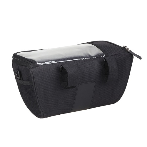 Multi-functional Bicycle Handlebar Bag with Touchscreen Pocket Cycling Front Frame Bag Pack Crossbody Shoulder Bag Image