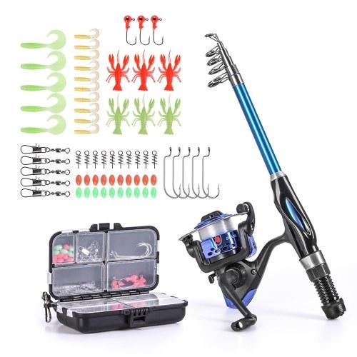 Blusea Fishing Rod Reel Combo Full Kit Image