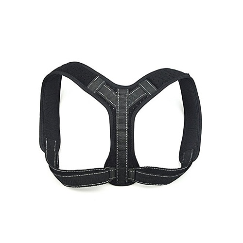 Adjustable Posture Correction Belt with Reflective Strip