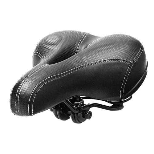 Bicycle Seat Cushion Wide Big Bum Saddle Seat