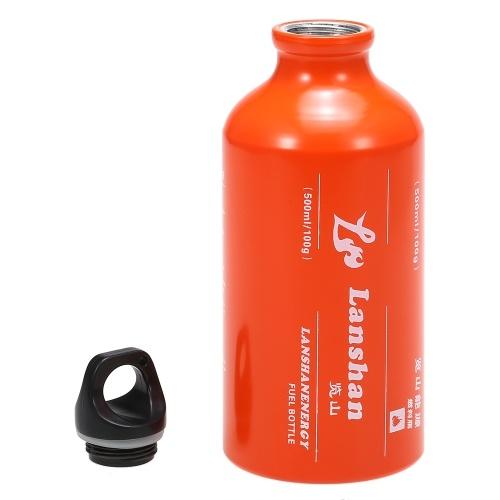 Réservoir de gaz liquide d'alcool de kérosène d'essence de bouteille de carburant d'essence 500ml