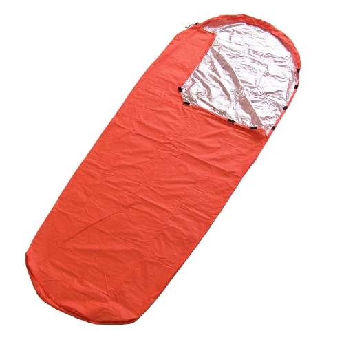 Lixada Portable solo saco de dormir al aire libre Camping viajes senderismo saco 210 * 82cm