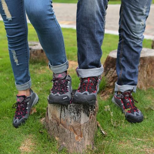 Открытый обувь профессиональная Гора поднимающаяся мужчины обувь Детская Пешие прогулки Sneaker обувь спорта, Треккинг обувь фото
