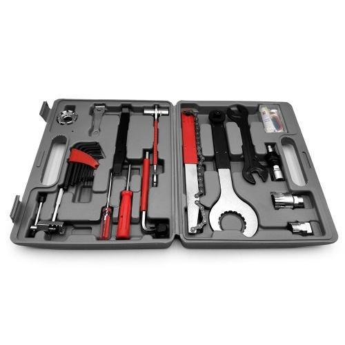 Lixada Professionelle Universal Home Outdoor-Multifunktions-Purpose-Fahrrad-Reparatur-Werkzeug-Kit Set