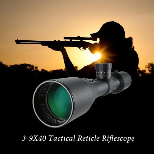 Vision 3-9X40 Rifle Tactical Wasserdicht Fogproof Stoß- Mil-Dot Absehen Rifle Optical Sight Jagd Scppe Monocular-Teleskop