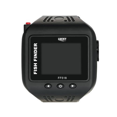 LUCKY Watch Type Sonar Fish Finder Wireless Fishfinder 200FT 60M Range Portable Echo Fishing Sounder