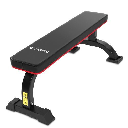 TOMSHOO Flat Weight Chest AB Bench