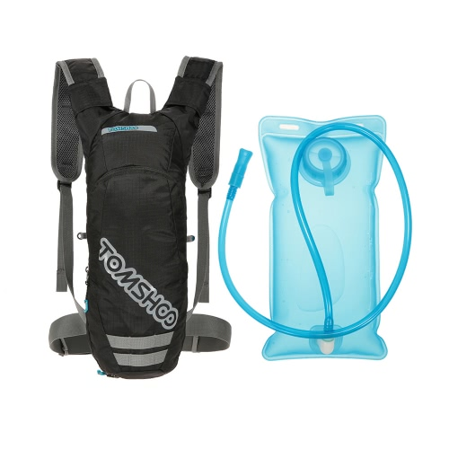 8ee7821440 Tomshoo TOMSHOO Hydration Pack Backpack Water Reservoir Bladder Bag with 2L  Bladder for Running Hiking Riding Camping Cycling Climbing Outdoor Bicycle  ...