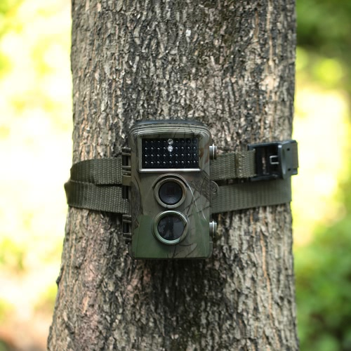12MP 1080P Game and Trail Camera Wildlife Hunting Camera Infrared Night Vision Home Security Digital Surveillance Camera 0.6s Trigger Speed 65ft Range thumbnail
