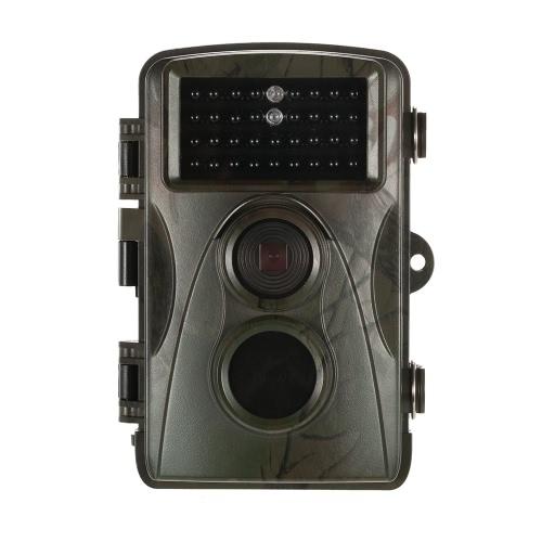 12MP 1080P juego y Trail cámara de caza de vida salvaje cámara infrarroja de visión nocturna de seguridad doméstica cámara de vigilancia 0.6s velocidad de disparo de 65 pies de rango