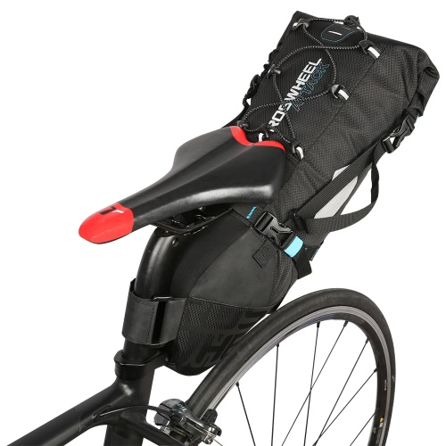 ROSWHEEL 131372 Water-resistant 10L Bike Tail Bag