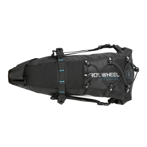ROSWHEEL 131372 Water-resistant 10L Bike Tail Bag Image