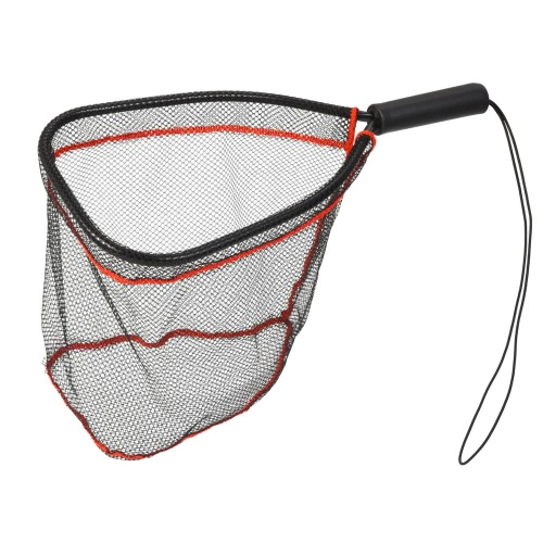 Aluminum Landing Nets Catch and Release Net Fish Saver Nylon Mesh