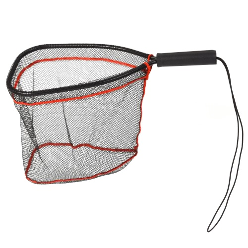 Aluminum Landing Nets Catch and Release Net Fish Saver Nylon Mesh for Fly Trout Kayak Boating Fishing