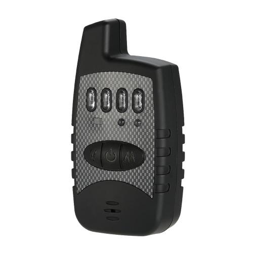 Set di allarme elettronico sensibile del morso di pesca di Lixada con l'indicatore dell'allarme del LED Avvertimento di suono acustico Accessori di pesca Lavoro di giorno / notte