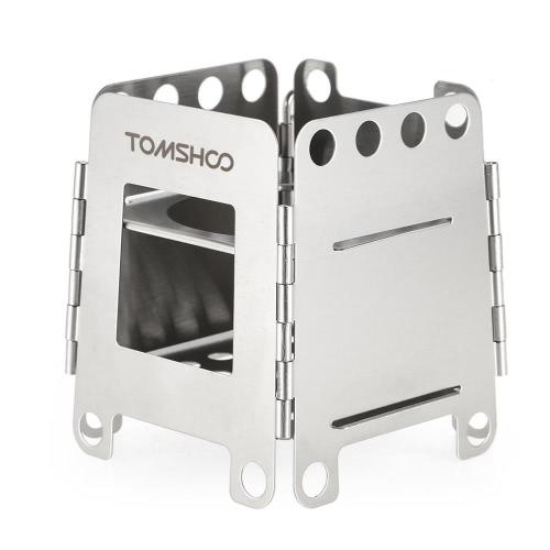 Fogão Folding de aço inoxidável TOMSHOO