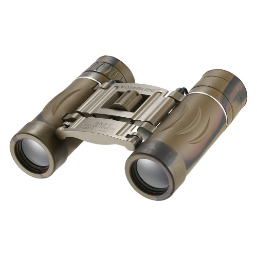 Visionking 8x21 Prismáticos plegables de bolsillo Compactos Prismáticos ligeros Telescopio para conciertos Viaje Excursionismo Observación de aves Adultos Niños