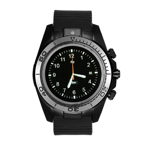 2G chiamata Smart Watch BT Sport Smartwatch Orologio da fotocamera portatile Dispositivi SIM TF Smartwach Card