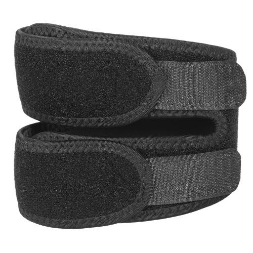 Elastische Knie-Klammer Verstellbare Patella-Klammer-Stütz-Wickel-Bügel-Knie-Kappe für das laufende Jogging-Wandern