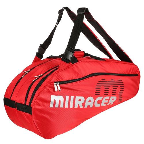 6 Schlägertasche Badminton Tennisschläger Tasche Rucksack Schläger Aufbewahrungstasche Halter