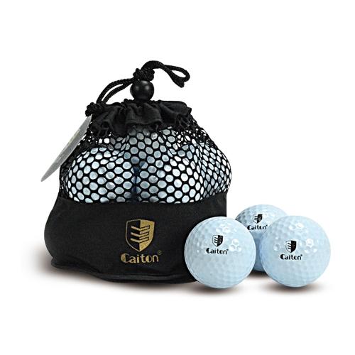10 Golfball mit Netztasche Golf Sportgeräte Zubehör