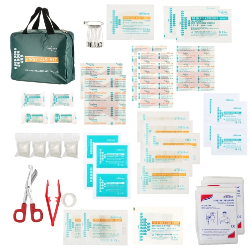 62PCS Safe Travel Erste-Hilfe-Kit Pack Set