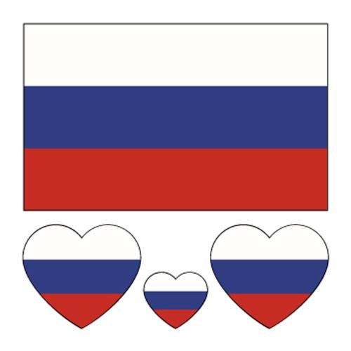 Etiqueta engomada de la bandera nacional del aficionado al fútbol para la Copa Mundial de la FIFA 2018