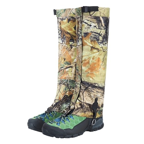 Snow Gaiters Long Camouflage Leg Protection Wrap