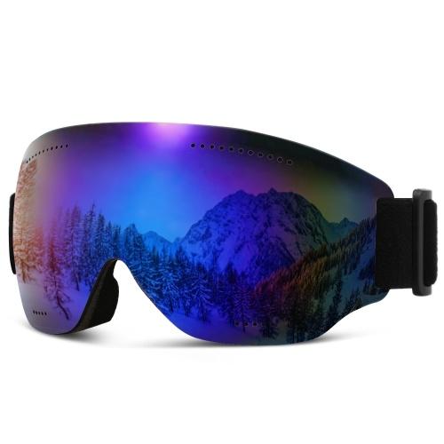 Leichte Skibrille mit UV-Schutz